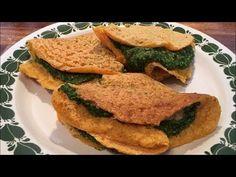 Crespelle di Lenticchie Rosse, con Spinaci in crema d'Avena | Gluten Free - Vegan - YouTube