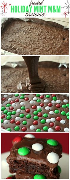 Frosted Holiday Mint M&M Cookies Recipe