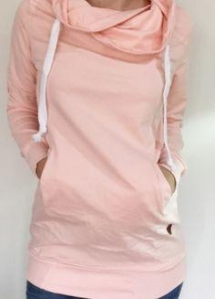 Kup mój przedmiot na #vintedpl http://www.vinted.pl/damska-odziez/bluzy/10368829-nowa-bluza-komin-pudrowy-roz