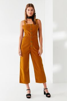 f1674e26ede3b Shop UO Corduroy Dungaree Jumpsuit at Urban Outfitters today. We carry all  the latest styles