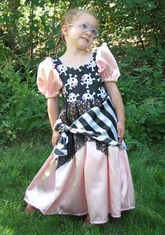 Pirate Princess Costume by Enchanted Kingdom Costumes