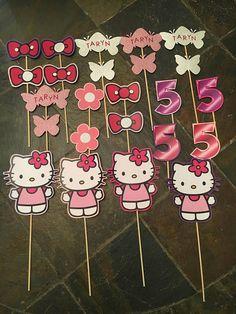 Hello Kitty centro de mesa