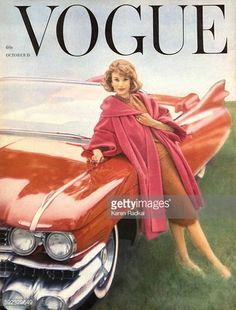 Vogue magazine cover 1958
