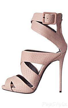 Giuseppe Zanotti E50160 Italian Leather Dress Sandal