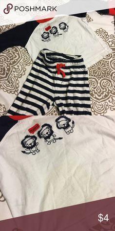Lion Pjs Gymboree • Good Condition, lightly worn• Dark blue, white and red• Pajamas Pajama Sets