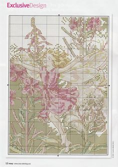 natty's cross stitch corner: fairies