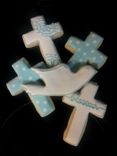 Baptism sugar cookies