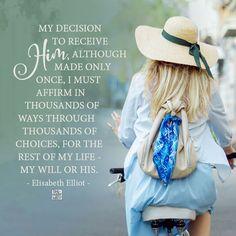 Elisabeth Elliot #christianity #christian #bible #faith #jesuschrist #God #love #christianencouragement #truth #biblestudy #lord
