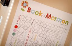This links to where you can purchase the Book of Mormon reading chart, but I think I could make one on my own. Scripture Reading Chart, Scripture Study, Family Scripture, Activity Day Girls, Activity Days, Lds Church, Church Ideas, Family Home Evening, Family Night