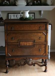 Annie Sloan Chalk Paint Before and After Wardrobe French