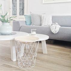 PUNTXET Una luminosa vivienda decorada en madera, blanco y gris #deco #decoracion #hogar #home #estilonordico #estiloescandinavo #nordicstyle #scandinavianstyle #salón #livingroom
