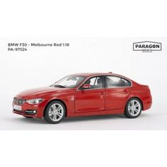 Paragon Models are now available from uk diecast models buy online now!! BMW F30 (3 series) (LHD) - Melbourne Red