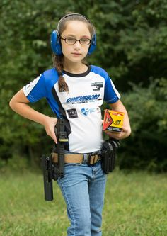 Meet shooting phenom Alexis Welch who has caught the attention of big names in the shooting industry. Hidden Gun, Hearing Protection, N Girls, 8 Year Olds, Haberdashery, Oppression, Pretty Woman, Guns, Daughter