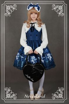 --New Release: Neverland Lolita ★☪~Chrono Guardian~☪★ Series --✂20% OFF! Customizable >>> http://www.my-lolita-dress.com/newly-added-lolita-items-this-week/neverland-lolita-chrono-guardian-series