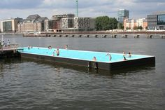 badeschiff ----- berlin