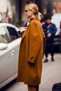 One of the must-have item - camel coat