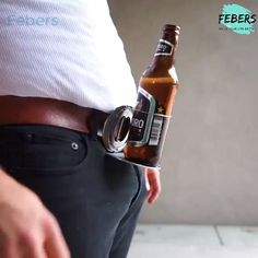 Beer Holder Belt Buckle - So Funny Epic Fails Pictures Epic Fail Pictures, Funny Pictures, Funniest Pictures, Can Holders, Grill Accessories, Buy Metal, Cool Inventions, Best Beer, Beer Lovers