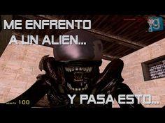 Garry`s Mod - Me enfrento a un Alien y pasa esto...