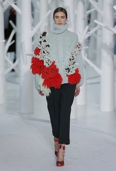 Delpozo Takes Proportion Play Literally for F/W 15 via @WhoWhatWear