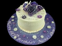 60th Birthday Cake for a Lady