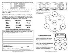 Printables Elements Of Art Worksheets elements of art value worksheets worksheet sketchbook activities to introduce young artists some the