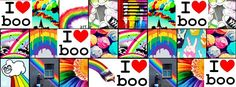 facebook covers - colorful images - i heart boo - facebook.com/meluvboo