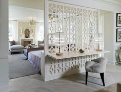 This was my favorite space in the Junior League Designer Showhouse, McLean House, Toronto (few years ago). 30's Glamour