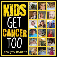 Each year, 160,000 children are diagnosed with cancer worldwide. Cancer is the number one disease killer of children in the U.S. and Canada.  Please help to find a cure www.stbaldricks.org