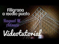"021 Fondo ""Trena Vella"". Curso Completo Encaje de Bolillos - Tutoriales Raquel M. Adsuar - YouTube"
