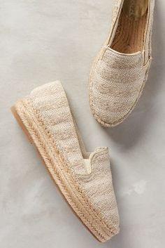 Splendid Eckland Espadrilles Green 8 Flats #anthrofave