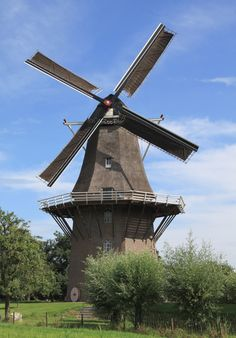 Flour mill Houdt Braef Stant, Welsum, the Netherlands