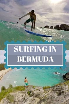 Who knew you could surf in Bermuda? We went surfing at Horseshoe Bay Beach taking surfing lessons. Learn more here: :