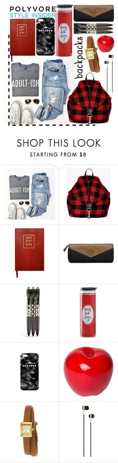 """""""Untitled #67"""" by brittany-phelps ❤ liked on Polyvore featuring Boohoo, ZENTS, Wild & Wolf, Vera Bradley, Kate Spade, Mr. Gugu & Miss Go, Bitossi, Gucci, Caeden and backpacks"""