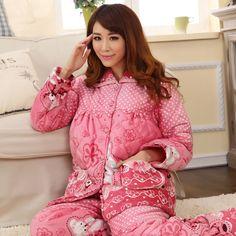 Female winter 800 sleepwear pajamas lounge-inPajama Sets from Apparel & Accessories on Aliexpress.com