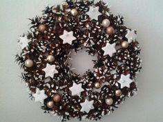 Vianočný veniec Christmas Wreaths, Holiday Decor, Home Decor, Decoration Home, Room Decor, Advent Wreaths, Interior Decorating