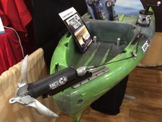 Anchor Wizard makes anchoring the kayak easier and safer.