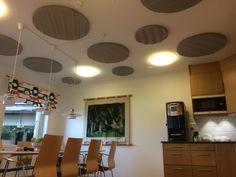 Horisont och Öresund, som takmonterade absorbenter  hos Virserums Sparbank #takabsorbenter #Innersmile