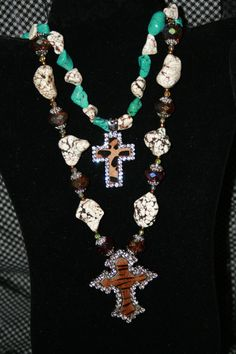 I started making Jewelry in 2009. I love bling and anything that glitters