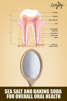 Sea Salt And Baking Soda For Overall Oral Health ==>  #Health #Healthtips #Healthyliving #Lifestyle  #Seasalt