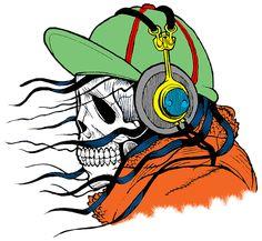 Photo By InspiredImages | Pixabay   #skull #skeleton #dead #deathmetal #blackmetal #spooky #baseball #zombie #zombies #audio #ghosts #ghost #metalmusic #headphone
