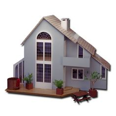 Greenleaf Dollhouses Brookwood Dollhouse & Reviews   Wayfair