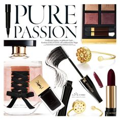 """""""Beauty After Dark"""" by totwoo ❤ liked on Polyvore featuring Victoria's Secret, Lancôme, Yves Saint Laurent, Bobbi Brown Cosmetics, Tom Ford and NARS Cosmetics"""