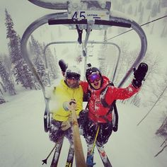 """Skip work tomorrow, the @GoPro selfies will be awesome, but the 25"""" of pow will be better. #Padgram"""