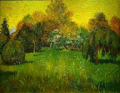 van Gogh - Poet's Garden
