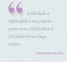 Frase de Proverbio Idiche