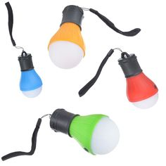Outdoor Camping Tent Light Bulb Lantern with Bright LED Light & Hang-able String #Rhinoceros #Camping #Hiking #Lights #Adventures
