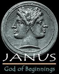 "Janus means ""archway"" in Latin. Janus was the Roman god of gateways and beginnings, often depicted as having two faces looking in opposite directions. The month of January is named for him. Profile Drawing, Roman Names, God Tattoos, Roman Gods, Babylon The Great, Worship The Lord, Connect The Dots, New Year Celebration, Two Faces"
