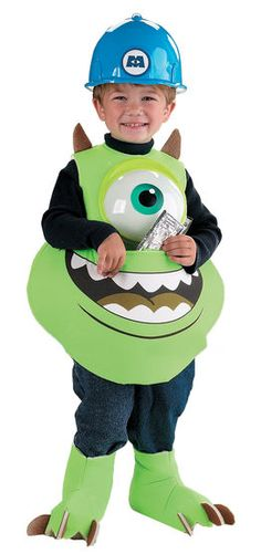 fancy dress costumes store mike monsters inc childrens costume childrens fancy dress costumes monster - Halloween Costume Monster