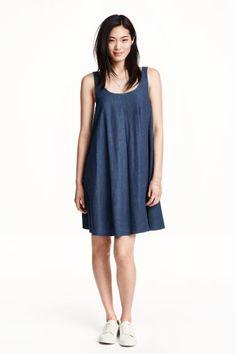 Denim dress   H&M