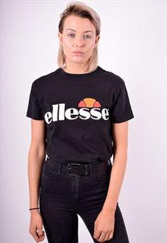 Ellesse Womens Ellesse Pinterest Clothes Ellesse And Crop Shirt